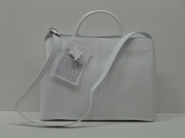b28289949a6d Női bőr táska, kézi és válltáska: fehér (Monarchy) - Csilla ...