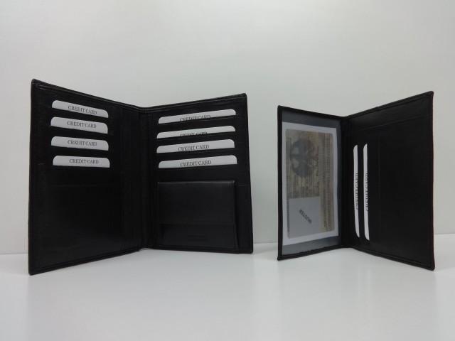 Férfi pénztárca + irattartó  fekete (Sylvia Belmonte) - 1032949 ... 69e45e1c6d