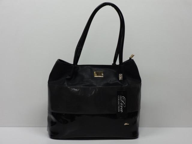 ee1c0b046218 Női táska, válltáska: fekete-sötétszürke (Diva collection) - Csilla ...