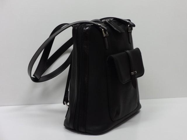 Bőr hátitáska  fekete (Monarchy) - Csilla Bőrdíszmű webáruház 3ac3532076