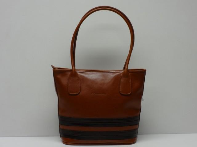 2306bfbf7104 Női bőr táska, válltáska: konyakbarna (Monarchy) - Csilla Bőrdíszmű ...