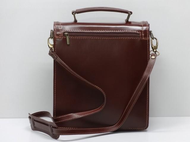 4414094f18a4 Férfi bőr táska, válltáska: konyakbarna - Csilla Bőrdíszmű webáruház