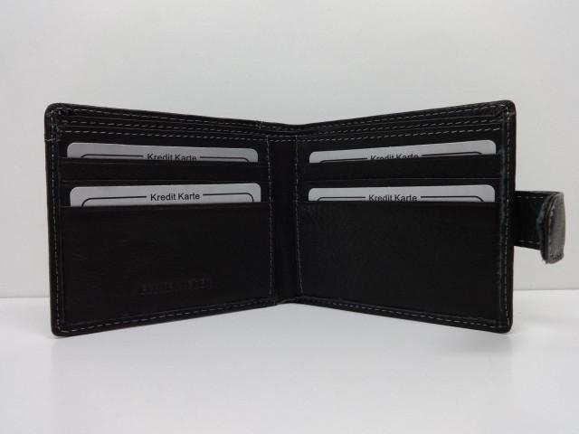 2dbbe9dc75 Férfi bőr pénztárca: fekete (Wild) - Csilla Bőrdíszmű webáruház