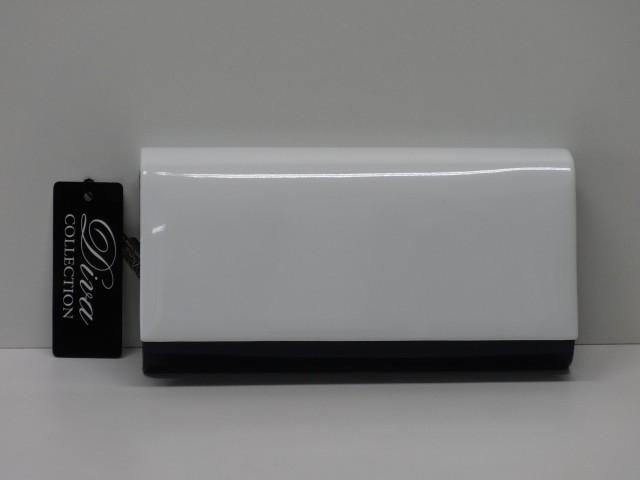 Borítéktáska  fehér-sötétkék (Diva collection) - Csilla Bőrdíszmű ... 16a28379bb