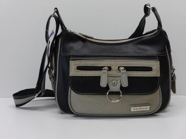 Vásárlás  Női válltáska  sötétbarna-drapp (Hernan) - pénztárca 6776c6ec3a
