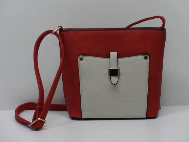 23986a488e Női táska, válltáska: piros-fehér - Csilla Bőrdíszmű webáruház
