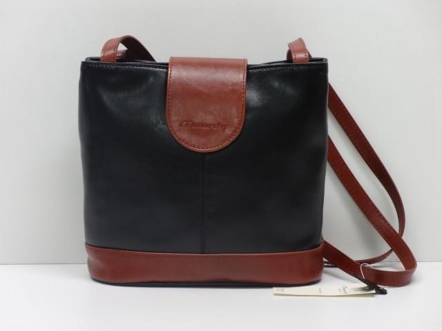 Vásárlás  Női válltáska  fekete-konyakbarna (Monarchy) - pénztárca ... 9103217994