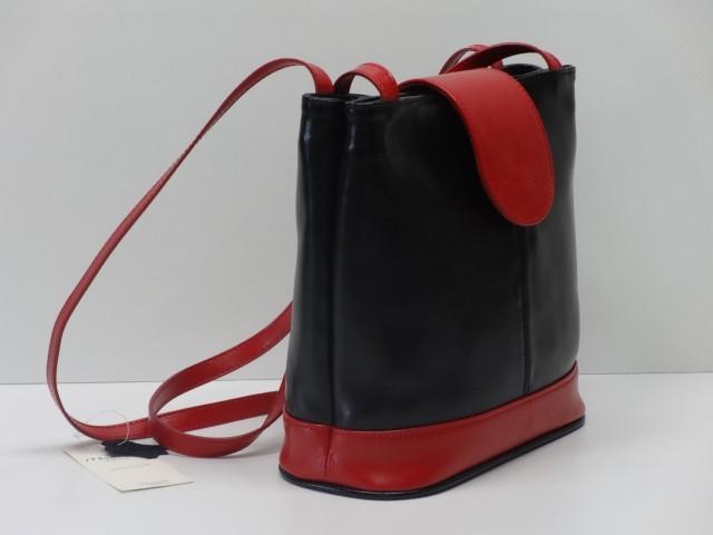 Női válltáska  fekete-piros (Monarchy) - 1071674 - Csilla Bőrdíszmű ... 5244015814