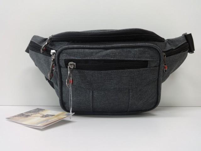 Vásárlás  Övtáska  sötétszürke (Adventurer) - pénztárca 030eeed305