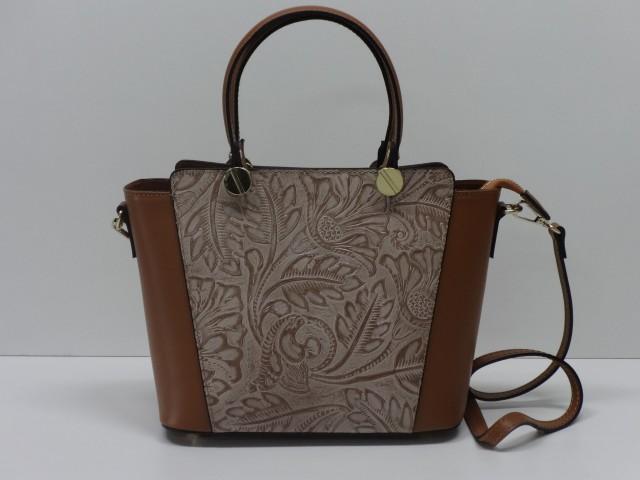 Vásárlás  Női kézi és válltáska  konyakbarna-sötétdrapp - pénztárca ... 48168aaccb