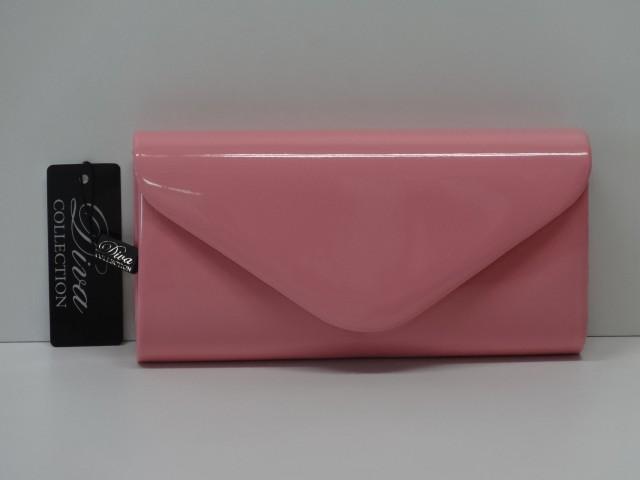 Borítéktáska  rózsaszín (Diva collection) - Csilla Bőrdíszmű webáruház 2721b7850d