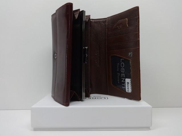 Keretes női bőr pénztárca  barna (Lorenti) - Csilla Bőrdíszmű webáruház 41d5c4b11b