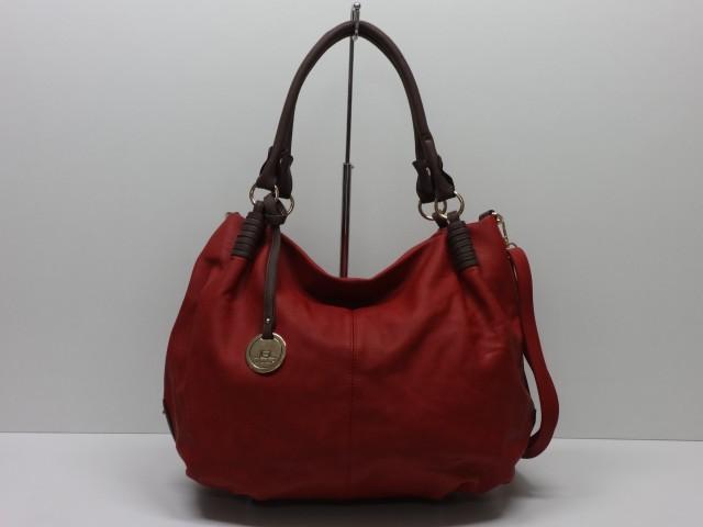 78a533b54e39 Női táska, kézi és válltáska: meggypiros-sötétbarna - Csilla ...