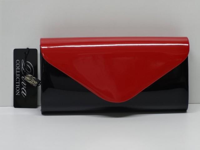 5812a701f9 Borítéktáska: fekete-piros (Diva collection) - 1074630 - Csilla ...