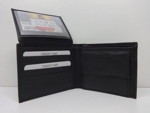 Vásárlás  Férfi pénztárca  fekete - pénztárca 0c3a5d9a96
