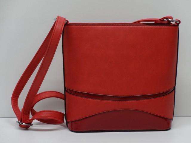 0b6fda9333e3 Női táska, válltáska: piros (Run-Fa) - Csilla Bőrdíszmű webáruház