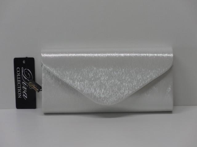 Borítéktáska  ezüst (Diva collection) - 1086816 - Csilla Bőrdíszmű ... 156983475d