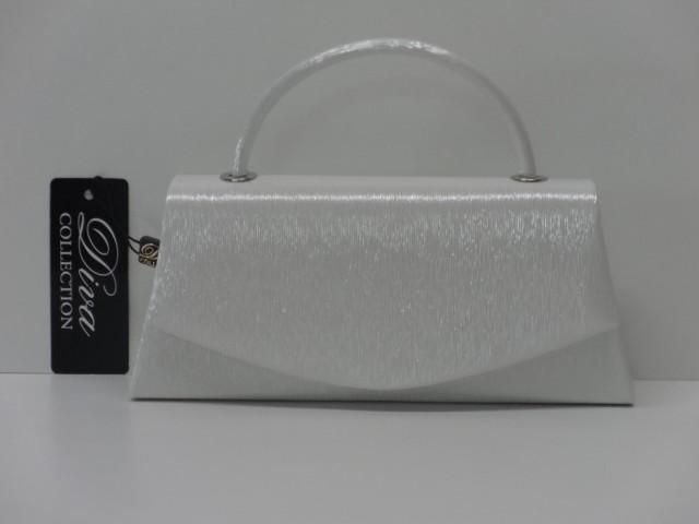 Alkalmi táska  ezüst (Diva collection) - Csilla Bőrdíszmű webáruház f246a04b48