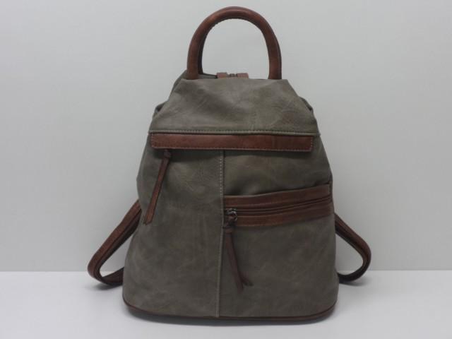 Hátitáska  khaki-barna - Csilla Bőrdíszmű webáruház 7989ec4f7a