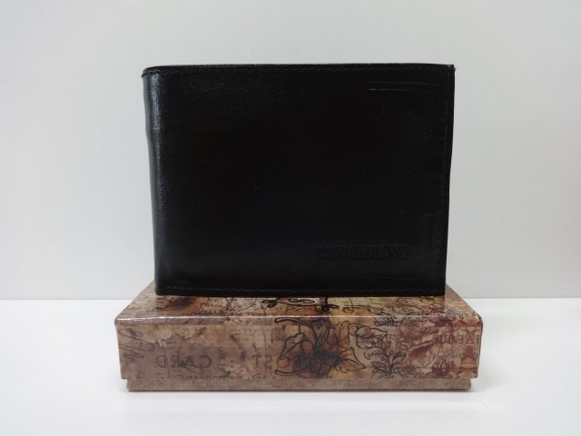 Férfi pénztárca  fekete (Synchrony) - 1087373 - Csilla Bőrdíszmű ... c81929b96c