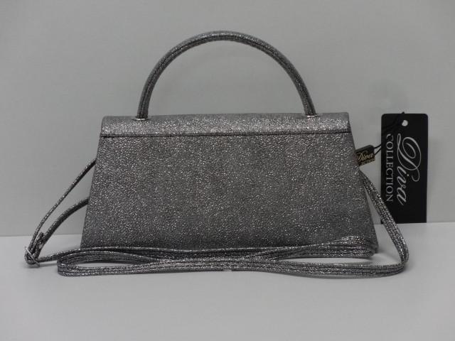 Alkalmi táska  sötétezüst (Diva collection) - Csilla Bőrdíszmű webáruház 505416c062