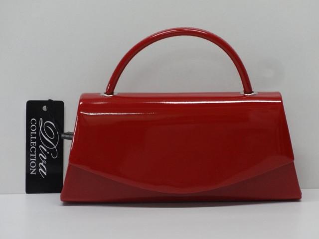Alkalmi táska  piros (Diva collection) - Csilla Bőrdíszmű webáruház e87948b0f4