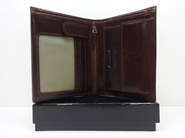 7d62ae56d702 Férfi bőr pénztárca + irattartó: barna (Valentini) - Csilla ...