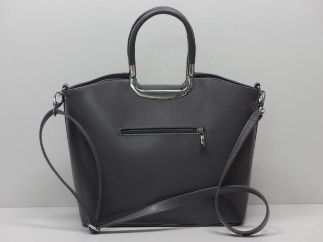 1d6d00e4af Női táska, kézi és válltáska: szürke (Karen) - Csilla Bőrdíszmű ...