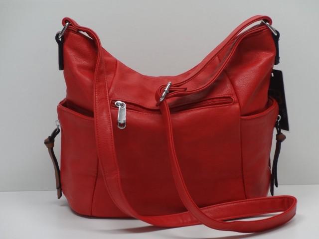 e5ba95c840 Női táska, válltáska: piros - Csilla Bőrdíszmű webáruház