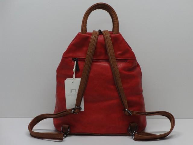 Hátitáska  piros-barna - 1089116 - Csilla Bőrdíszmű webáruház 8b76d2200b