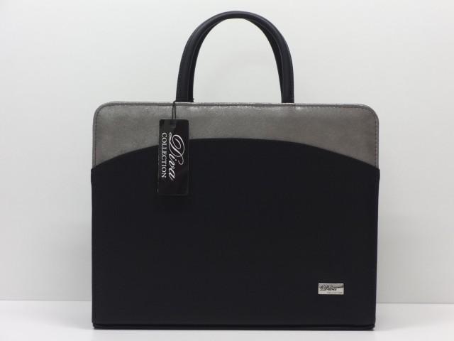 Női aktatáska  fekete-sötétezüst (Diva collection) - 1089156 ... 584a8e7ffe