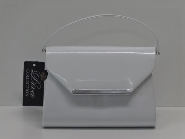 Borítéktáska  fehér (Diva collection) - Csilla Bőrdíszmű webáruház 641997fcfd
