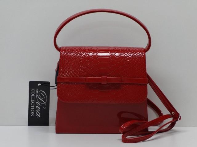 375ee7ff65 Alkalmi táska: piros (Diva collection) - Csilla Bőrdíszmű webáruház