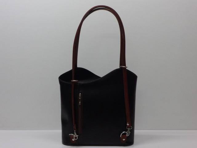 Férfi bőr táska, válltáska: fekete Csilla Bőrdíszmű webáruház